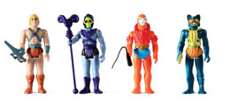 Photo du produit 4 FIGURINES MASTERS OF THE UNIVERSE REACTION WAVE 1 Photo 1