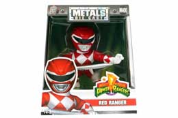 FIGURINE POWER RANGERS METALS RED RANGER