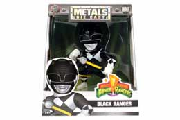 FIGURINE POWER RANGERS METALS BLACK RANGER