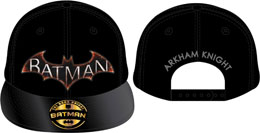BATMAN CASQUETTE BASEBALL ARKHAM KNIGHT