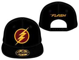 THE FLASH CASQUETTE BASEBALL LOGO