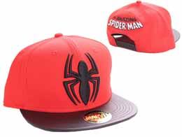 SPIDER-MAN CASQUETTE BASEBALL BLACK SPIDER