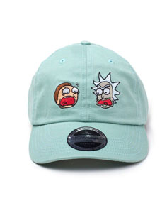 RICK ET MORTY CASQUETTE BASEBALL FACES OF RICK & MORTY