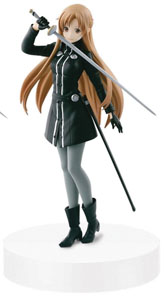 FIGURINE SWORD ART ONLINE MOVIE ORDINAL SCALE SQ ASUNA BLACK SWORDSWOMAN 17CM