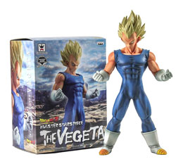 FIGURINE SUPER MASTER STAR PIECE VEGETA SUPER SAYAN 30CM