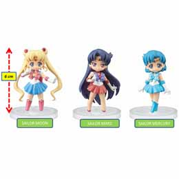 SAILOR MOON CRYSTAL TRADING FIGURES
