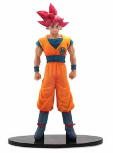 Photo du produit DBZ DXF SON GOKU SUPER SAYAN GOD 15CM