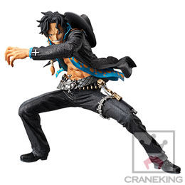 FIGURINE ONE PIECE ZOUKEI MONOGATARI PORTGAS.D.ACE 18CM