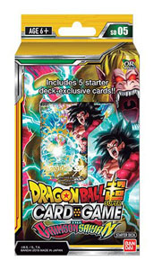 DRAGONBALL SUPER CARD GAME SEASON 5 STARTER DECK THE CRIMSON SAIYAN (EN ANGLAIS)