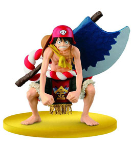 ONE PIECE FILM GOLD FIGURINE SCULTURES BIG ZOUKEIO SPECIAL LUFFY 12 CM