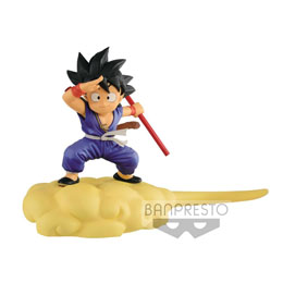 DRAGONBALL FIGURINE KINTOUN SON GOKU ON FLYING NIMBUS SPECIAL COLOR VERSION