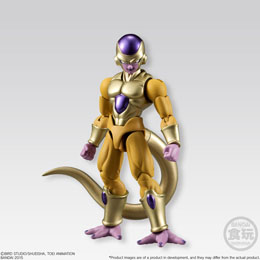 DRAGONBALL Z FIGURINE BANDAI SHODO GOLDEN FREEZA 10 CM