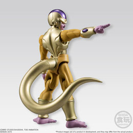 Photo du produit DRAGONBALL Z FIGURINE BANDAI SHODO GOLDEN FREEZA 10 CM Photo 1
