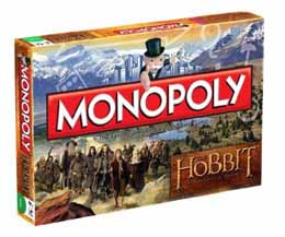 MONOPOLY THE HOBBIT (VERSION ANGLAISE)