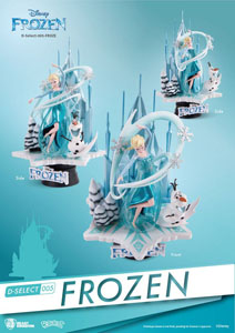 Photo du produit LA REINE DES NEIGES DIORAMA PVC D-SELECT 18 CM Photo 1