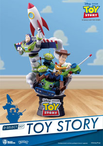 TOY STORY DIORAMA PVC D-SELECT 15 CM