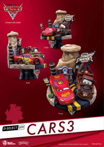 Photo du produit CARS 3 DIORAMA PVC D-SELECT 13 CM Photo 1