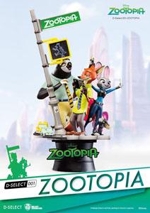 ZOOTOPIE DIORAMA D-SELECT 16 CM