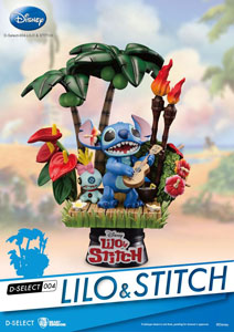 FIGURINE LILO & STITCH DIORAMA D-SELECT 14 CM