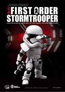 STAR WARS EPISODE VII EGG ATTACK FIGURINE FIRST ORDER STORMTROOPER