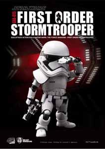 STAR WARS EPISODE VII EGG ATTACK FIGURINE FIRST ORDER STORMTROOPER