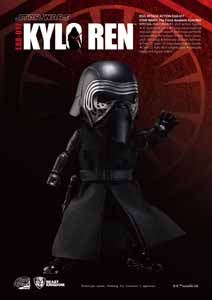 FIGURINE KYLO REN STAR WARS EPISODE VII EGG ATTACK