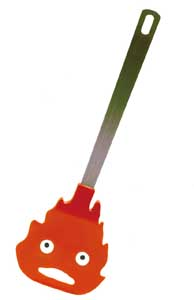 SPATULE LE CHATEAU AMBULANT CALCIFER - STUDIO GHIBLI