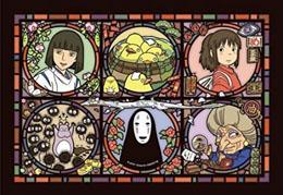 LE VOYAGE DE CHIHIRO PUZZLE ACRYLIQUE ART CRYSTAL WONDER LETTER