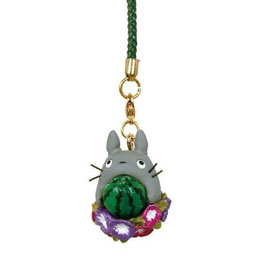 STUDIO GHIBLI MON VOISIN TOTORO STRAP SUMMER MORNING GLORY 11 CM
