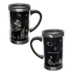 STUDIO GHIBLI SI TU TENDS L'OREILLE MUG DE VOYAGE TWELVE O'CLOCK