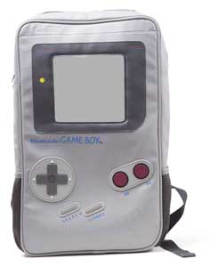 NINTENDO SAC A DOS GAMEBOY SHAPED