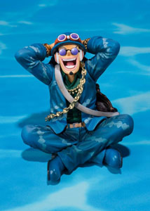 Photo du produit ONE PIECE STATUETTE PVC FIGUARTSZERO USOPP 20TH ANNIVERSARY VER. 7 CM Photo 1