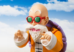 Photo du produit DRAGONBALL FIGURINE S.H. FIGUARTS MASTER ROSHI TAMASHII WEB EXCLUSIVE Photo 1