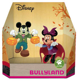 DISNEY PACK 2 FIGURINES MICKY HALLOWEEN 8 - 10 CM