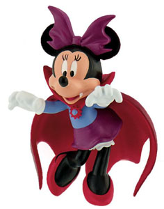 DISNEY MICKEY MOUSE & FRIENDS FIGURINE MINNIE HALLOWEEN 7 CM
