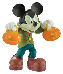 DISNEY MICKEY MOUSE & FRIENDS FIGURINE MICKEY HALLOWEEN 7 CM