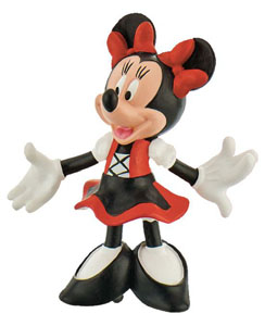 DISNEY MICKEY MOUSE & FRIENDS FIGURINE MINNIE DIRNDL 7 CM