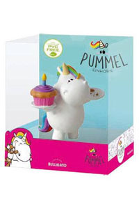 CHUBBY UNICORN FIGURINE BIRTHDAY-CHUBBY SINGLE PACK BULLYLAND