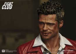 FIGURINE FIGHT CLUB TYLER DURDEN (BRAD PITT) RED JACKET 1:6 SCALE FIGURE