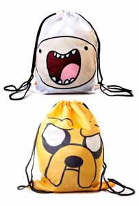 ADVENTURE TIME SAC EN TOILE REVERSIBLE FINN & JAKE