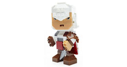 JEU DE CONSTRUCTION ASSASSIN'S CREED MEGA BLOKS KUBROS EZIO 14 CM