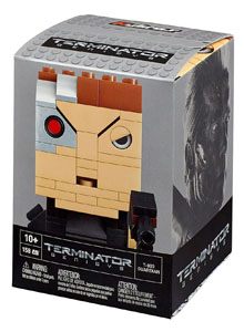 Photo du produit  JEU DE CONSTRUCTION TERMINATOR GENISYS MEGA BLOKS KUBROS T-800 GUARDIAN 14 CM Photo 1