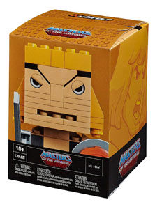 Photo du produit JEU DE CONSTRUCTION MASTERS OF THE UNIVERSE MEGA BLOKS KUBROS HE-MAN 14 CM Photo 1