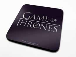 PACK 6 SOUS-VERRES GAME OF THRONES LOGO
