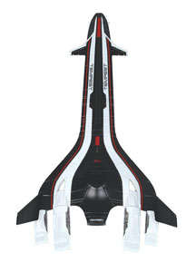 REPLIQUE MASS EFFECT TEMPEST SHIP 20 CM
