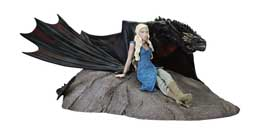 GAME OF THRONES STATUETTE DAENERYS & DROGON