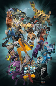 BANDE DESSINÉE OVERWATCH ANTHOLOGY VOLUME 1 (EN ANGLAIS)