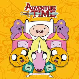 CALENDRIER ADVENTURE TIME 2017 (ANGLAIS)