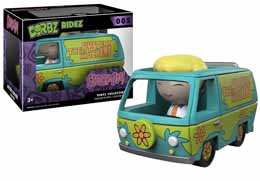 SCOOBY-DOO FIGURINE FUNKO DORBZ RIDE MYSTERY MACHINE ET FRED JONES