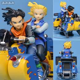 DBZ DESKTOP REAL MCCOY VOL 4 C-17 & C-18 AIRBIKE